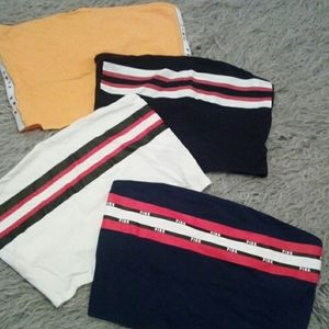 NWOT lot 4 crop tube tops